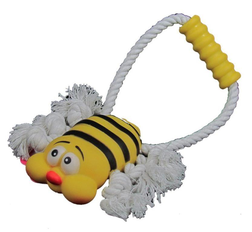 Brinquedo Abelhinha com corda e puxador