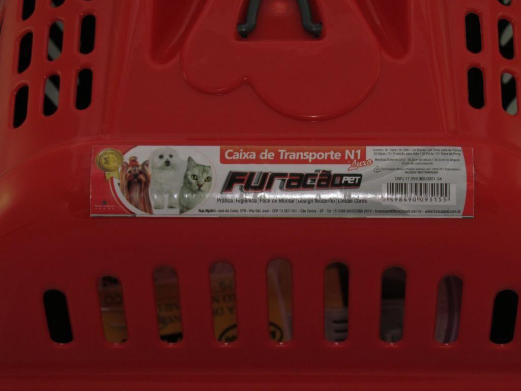 Caixa de transporte Luxo Vermelha