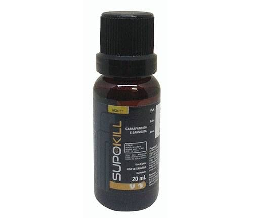Carrapaticida e Sarnicida Supokill - 20ml