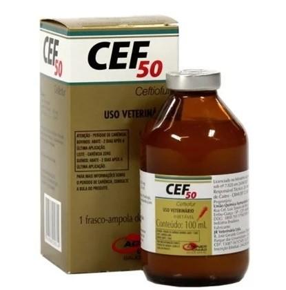 CEF 50 Ceftiofur Injetável - 100ml