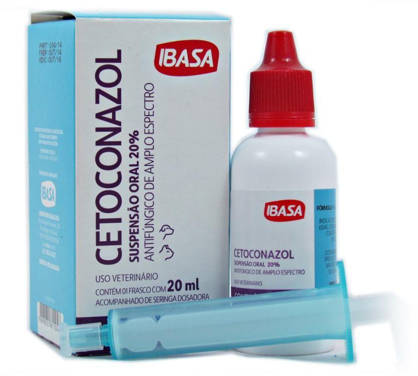 Cetoconazol Suspensão Oral 20% - Ibasa 20ml