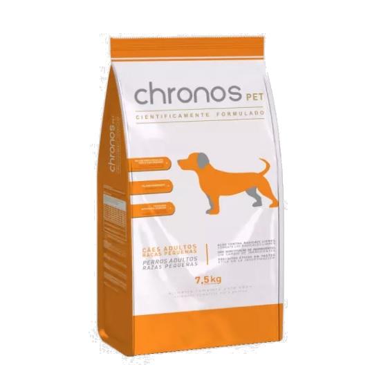 Chronos Pet Raças Pequenas Ração para Cachorros adultos - 7,5kg