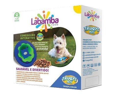 Comedouro Interativo Labamba Food - Truqys Pets