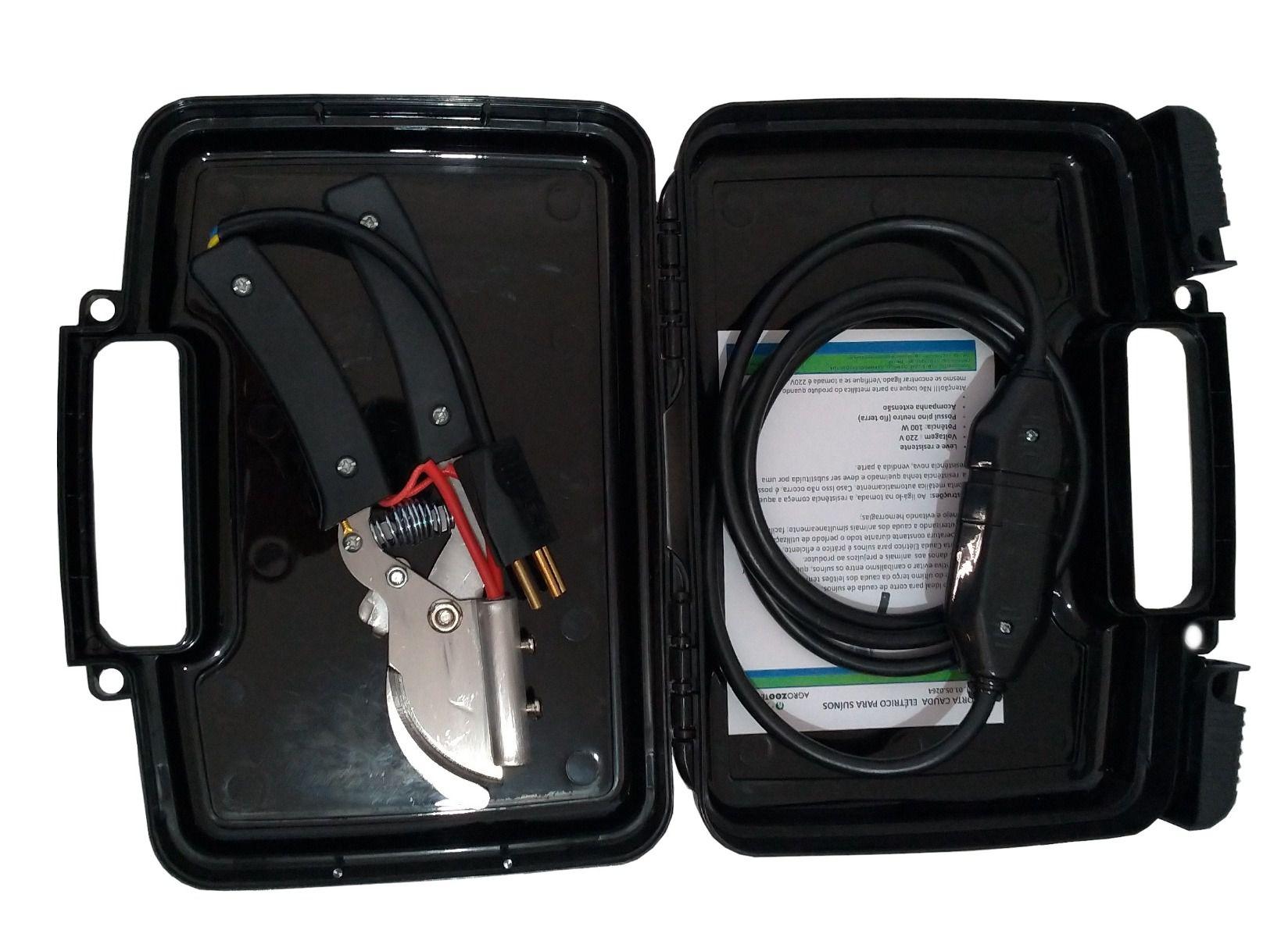 Corta Cauda Elétrico para Suino 220V