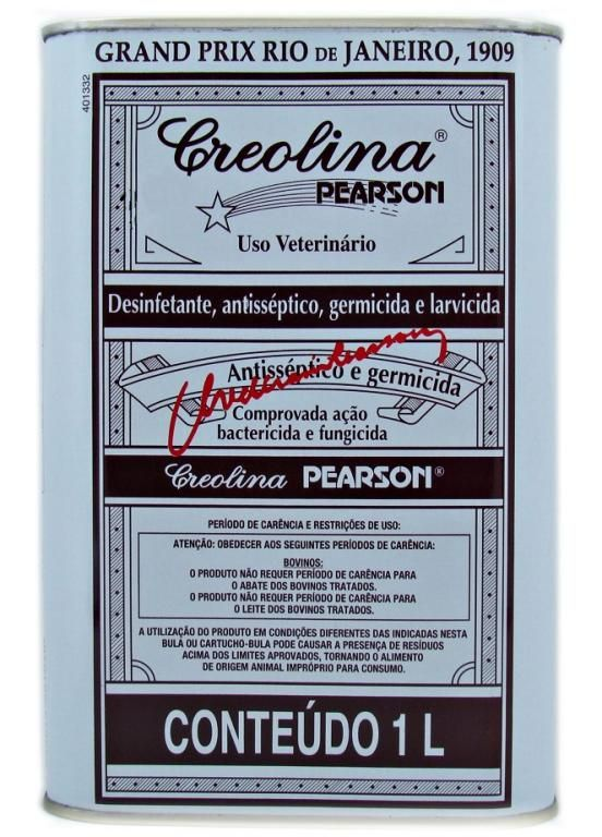 Creolina Pearson - 50ml, 100ml e 1L