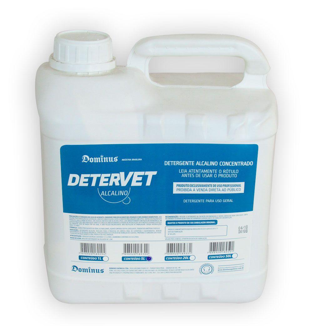 DeterVet Alcalino - 5 litros