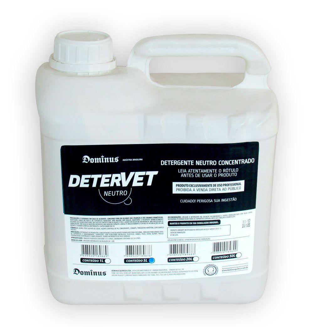 DeterVet Neutro - 5 litros