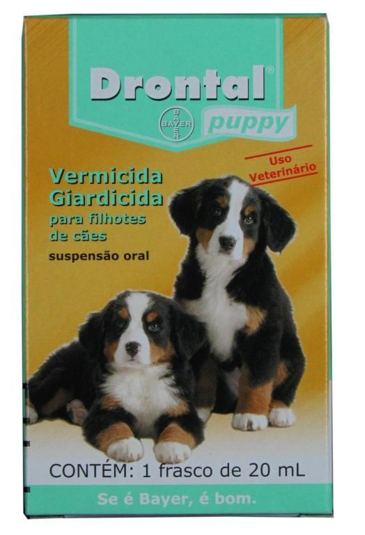 Drontal Puppy 20 ml - filhotes