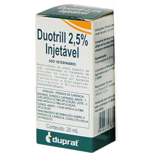 Duotrill Injetável 2,5% - 20ml