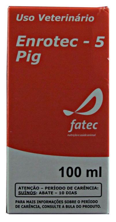Enrotec-5 Pig Enrofloxacino - 100ml