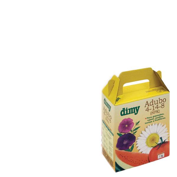 Fertilizante Dimy Nitrogênio, Fósforo e Potássio 04-14-8 - 1kg