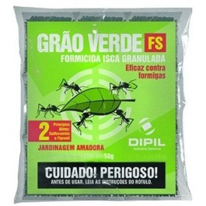 Formicida Isca Grão Verde - 500g