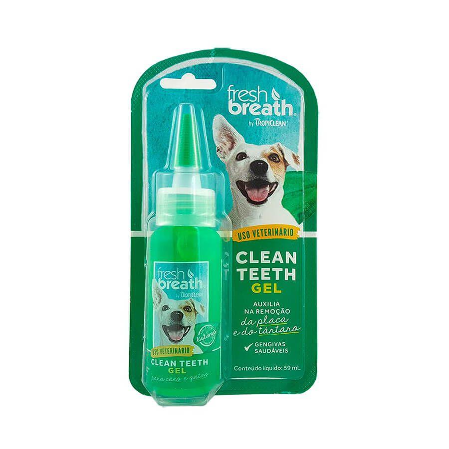 Gel Dental Fresh Breath Tropiclean - 59ml