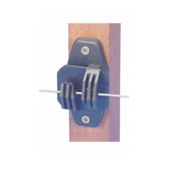 Isolador Tipo W Reforçado para cerca elétrica