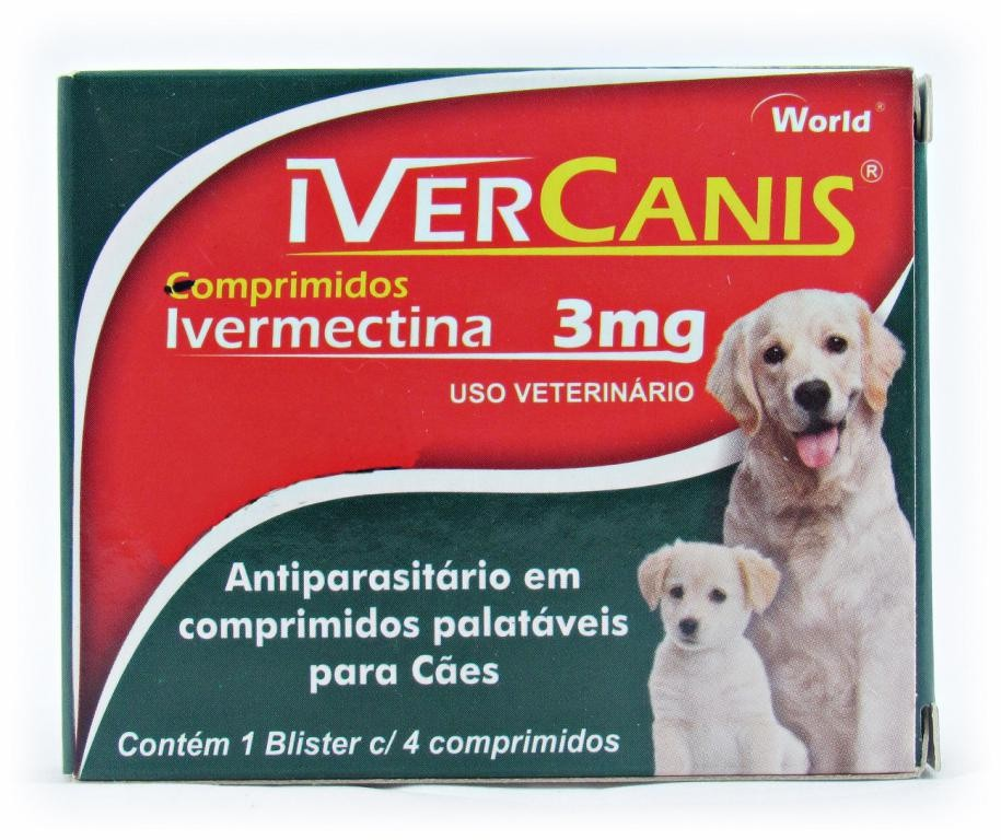 Ivercanis Comprimidos