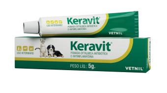 Keravit - Pomada Oftalmológica 5g