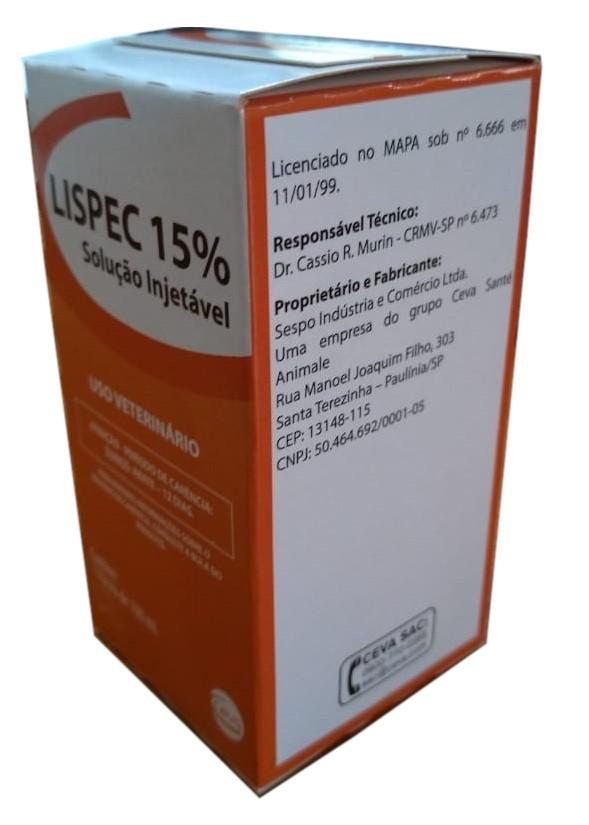 Lispec 15% Injetável - 100ml