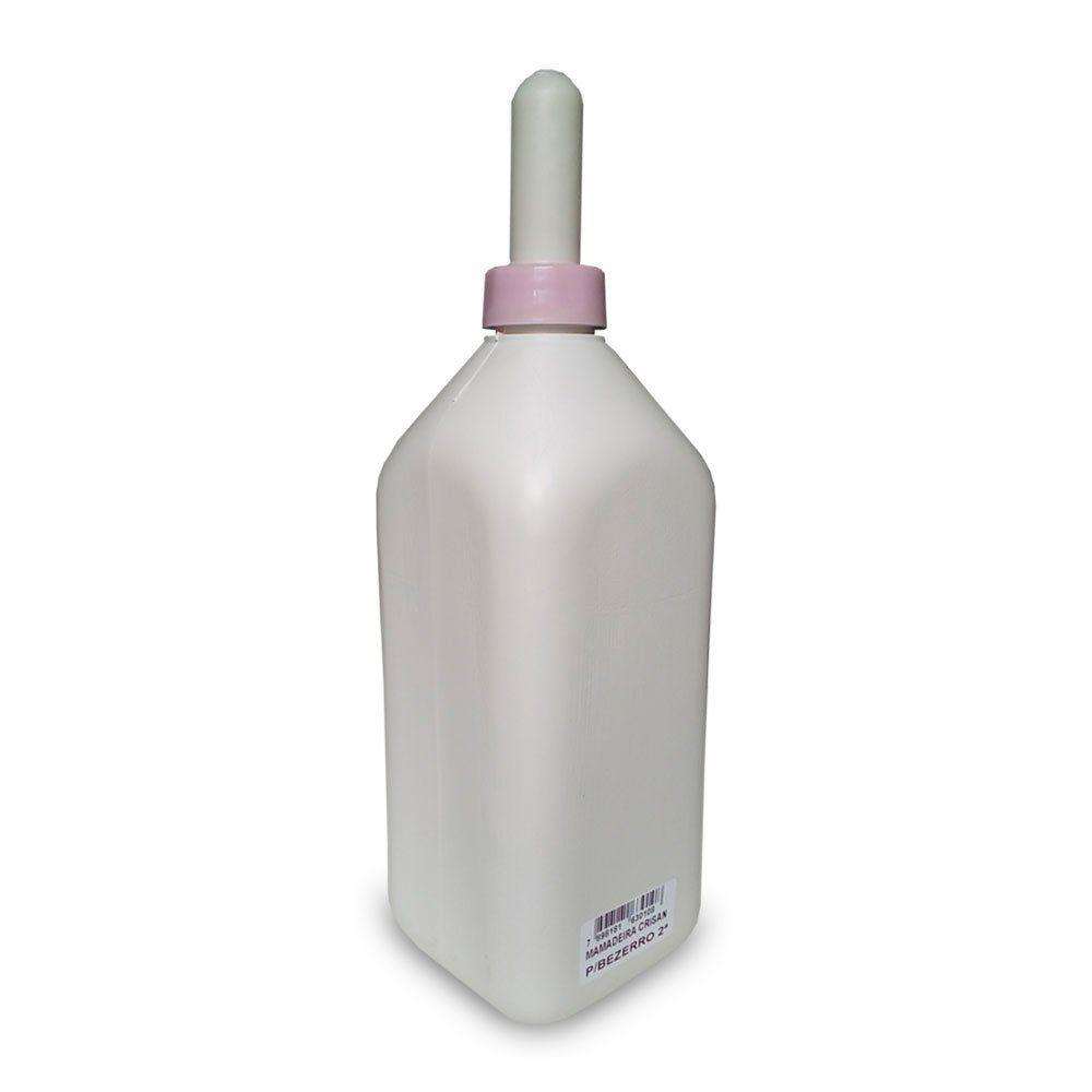 Mamadeira Plástica para bezerros - 2 Litros