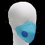 Máscara Respirador Descartável PFF2 - Com válvula