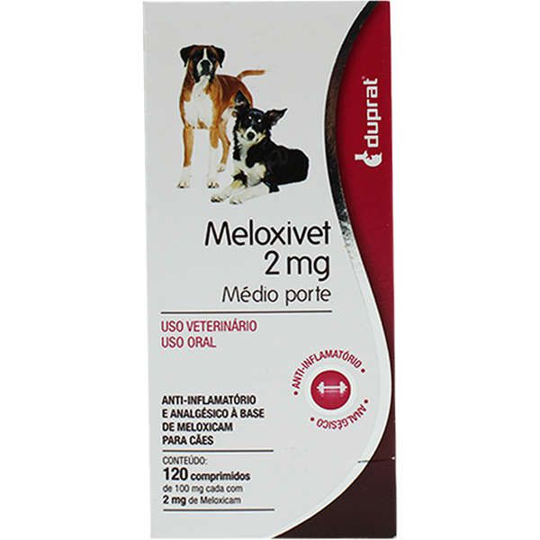 Meloxivet 2mg - 10 e 120 comprimidos