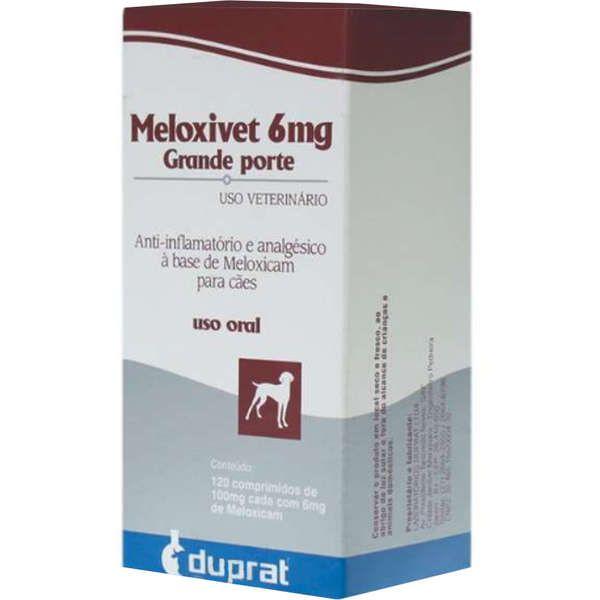 Meloxivet 6mg - 10 e 120 comprimidos