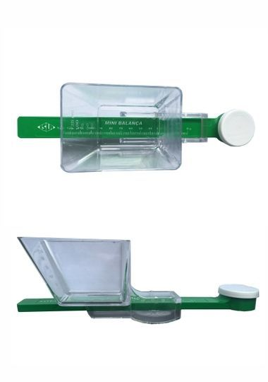 Mini Balança Plastica Multitec 125gr