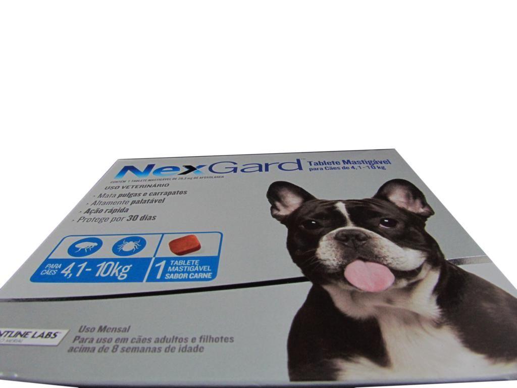 Nexgard para Cães 4 a 10kg - 1 Tablete Mastigável