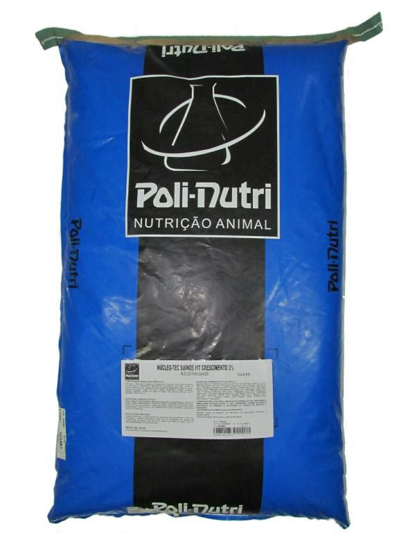 Núcleo-Tec Suínos Fit Crescimento 3% - 30kg