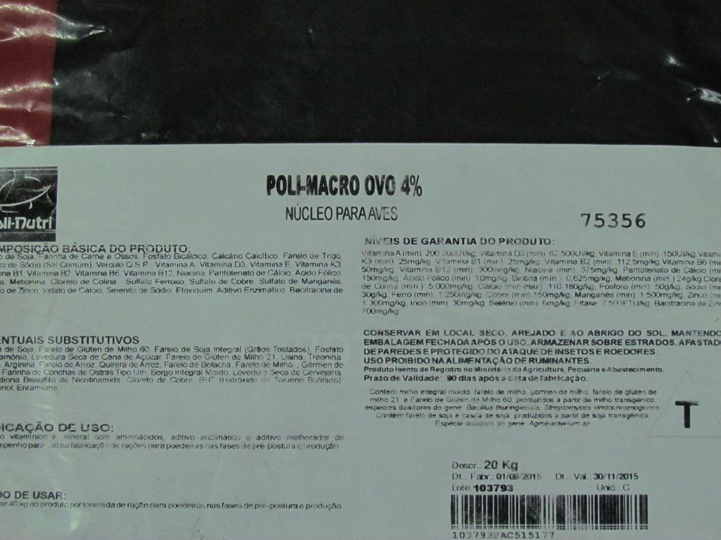 Poli-Macro ovo 4% - 20kg