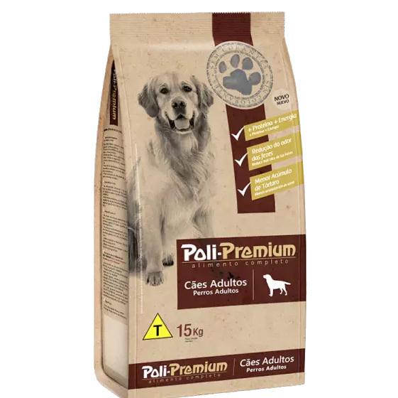 Poli-Premium Ração para Cachorros adultos - 15kg