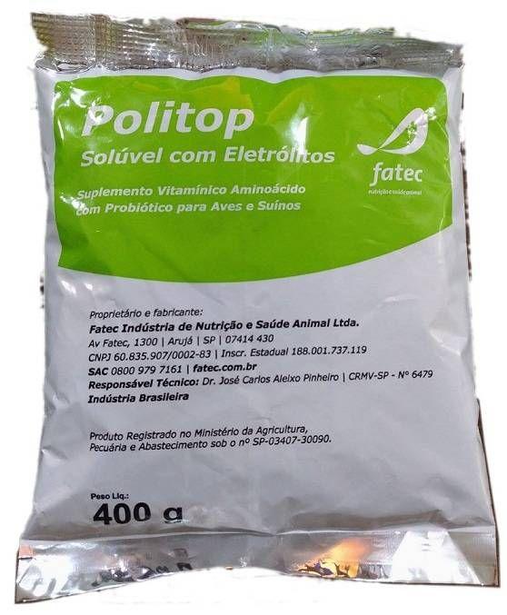 Politop Solúvel com Eletrólitos - 400g