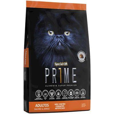 Ração Special Cat Prime Adulto Salmão/Arroz 1kg