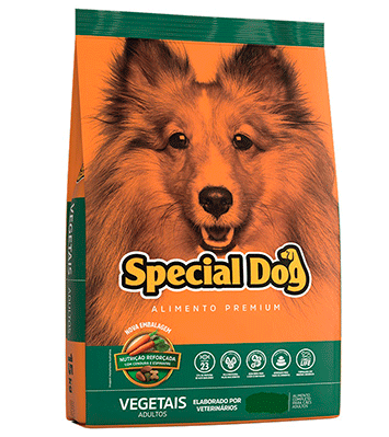 Ração Special Dog Vegetais - 25 kg