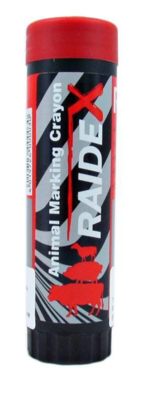 Raidex Tinta Marcadora Bastão 57 gr-Vermelho