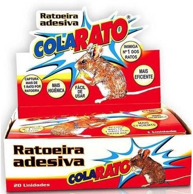 Ratoeira Adesiva Cola Rato AmericanPets - 10 Unidades