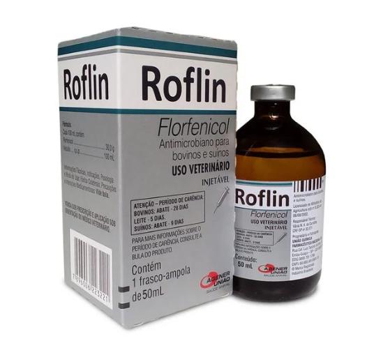 Roflin Florfenicol - 50ml e 100ml