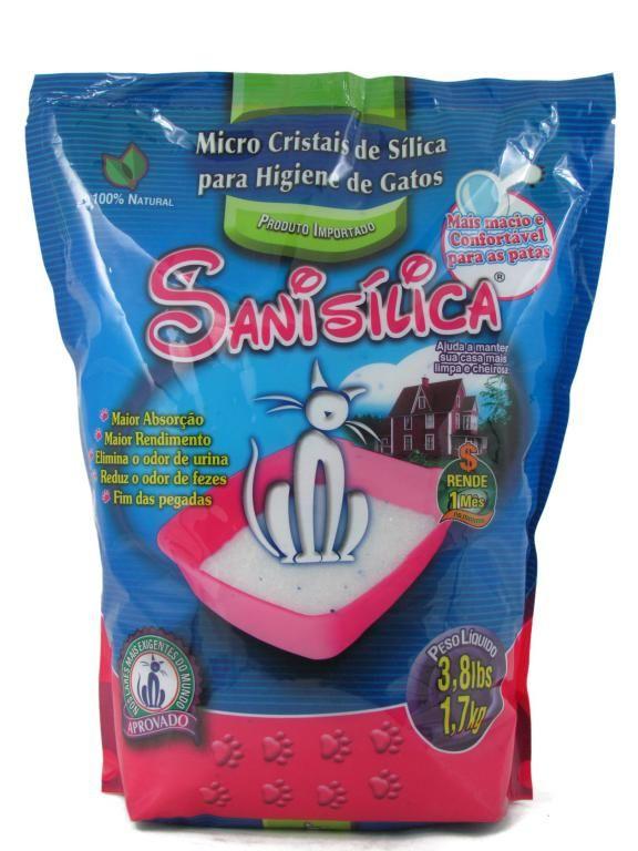 Sanisilica - Areia de microcristais de silica 1,7kg