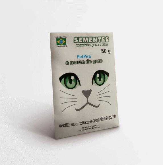 Sementes de Graminha para Gato