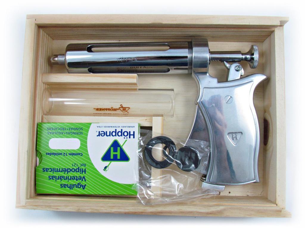 Seringa Pistola Hoppner 50ml com Estojo Completo R-113