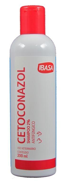 Shampoo Cetoconazol 2% - Ibasa 200ml
