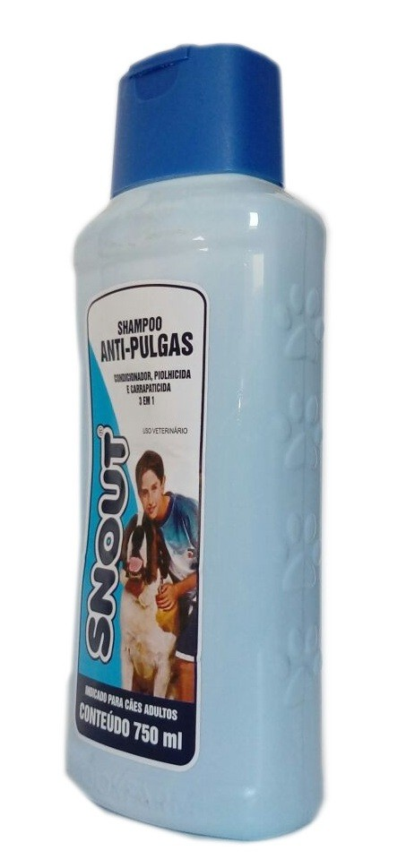 Shampoo Snout Anti-Pulgas 750ml