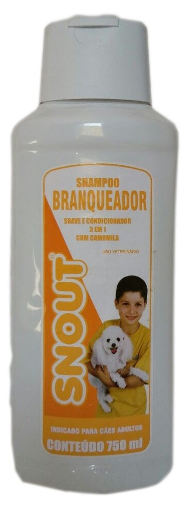 Shampoo Snout Branqueador - 750ml
