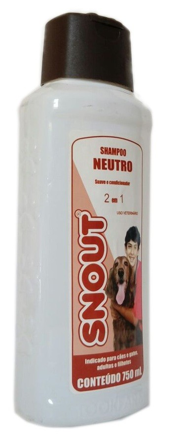Shampoo Snout Neutro 750ml