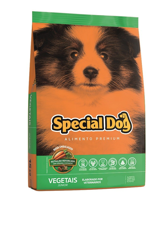 Special Dog Junior Vegetais - 1kg
