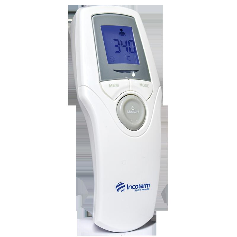 Termômetro Humano Clínico Infravermelho TCI 300 Incoterm