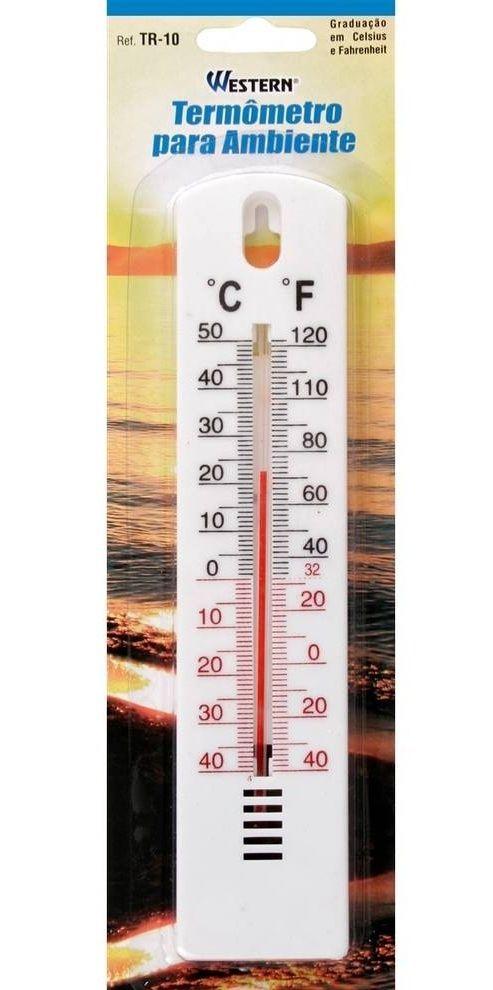 Termômetro para ambientes Western