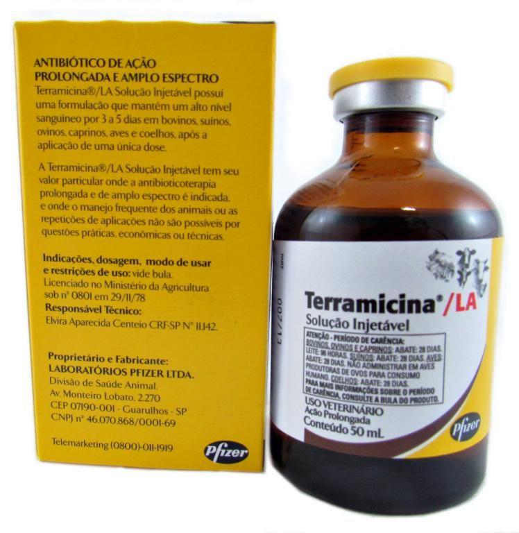 Terramicina LA - 50ml