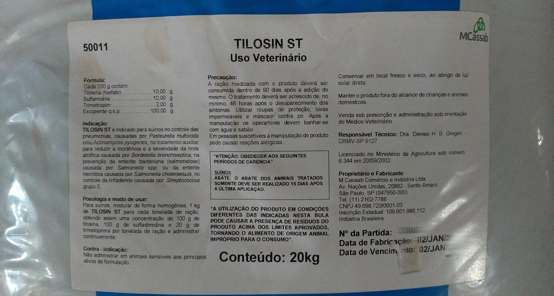 Tilosin ST - 20 kg