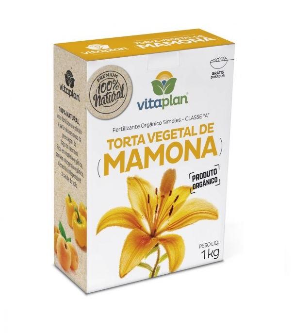 Torta Vegetal de Mamona Fertilizante - 1kg
