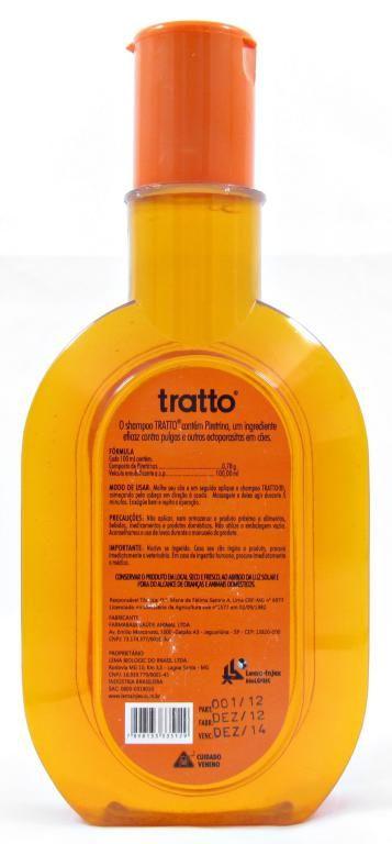Tratto Shampoo Antipulgas para cães 300ml